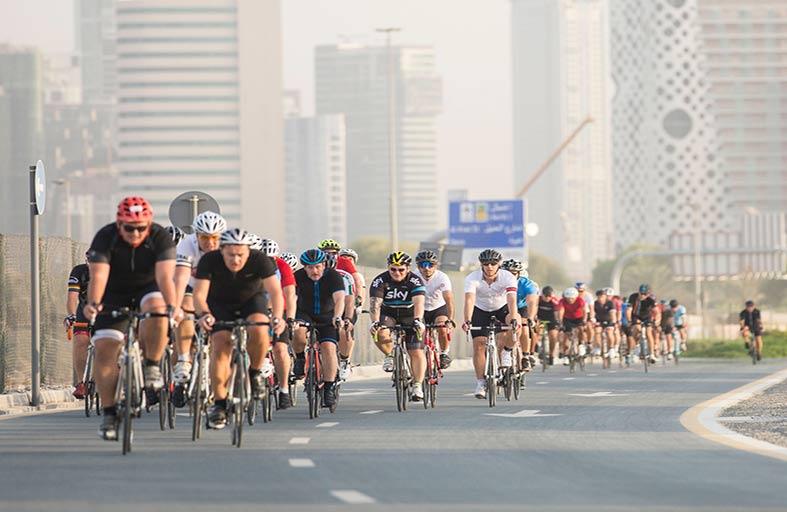 انطلاقة قوية لأولى جولات تحدي سبينس دبي 92 التحضيرية للدراجات