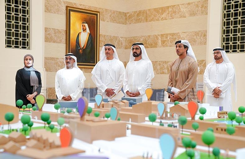محمد بن راشد يعتمد السياسة الوطنية للمجتمعات السكنية الحيوية ويوجه الجهات المعنية بالتطبيق