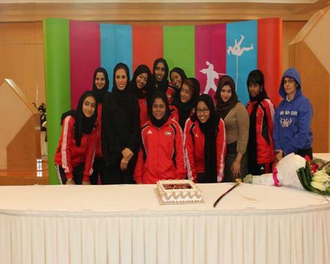 رياضة المرأة تكرم أصحاب الإنجازات لعام 2012