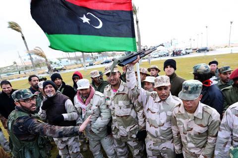 ليبيا تستعد لإحياء ذكرى الثورة