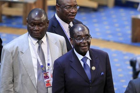 16 مارس موعد الاستفتاء على دستور زيمبابوي