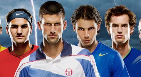 2012 أكثر المواسم ندية في عالم التنس