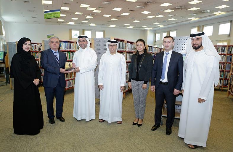 «دبي للثقافة» تستقبل وفدًا من قنصلية أذربيجان في مكتبة الطوار