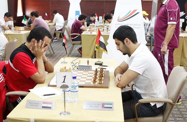 اللجنة المنظمة لمهرجان أبو ظبي الدولي للشطرنج الـ 24 تقوم بتفقد أروقة المهرجان والفعاليات المصاحبة