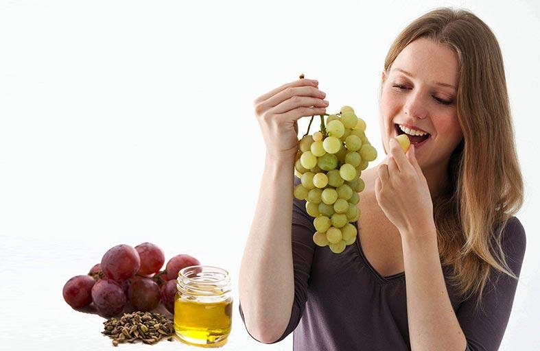 خلاصة بذور العنب.. تحارب شيخوخة البشرة