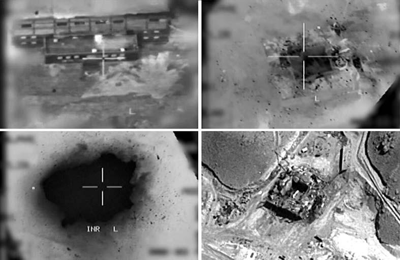 اسرائيل تعترف بقصف مفاعل نووي في سوريا 2007