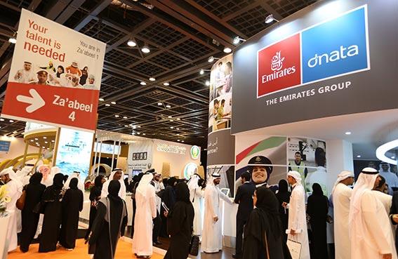 معرض الإمارات للوظائف يزوّد المواطنين الباحثين عن العمل بمهارات مهمة ويفتح قنوات التواصل بين الخريجين وأرباب العمل