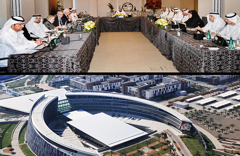 مجلس جامعة الإمارات يعقد اجتماعه الثاني للعام الأكاديمي 2017-2018