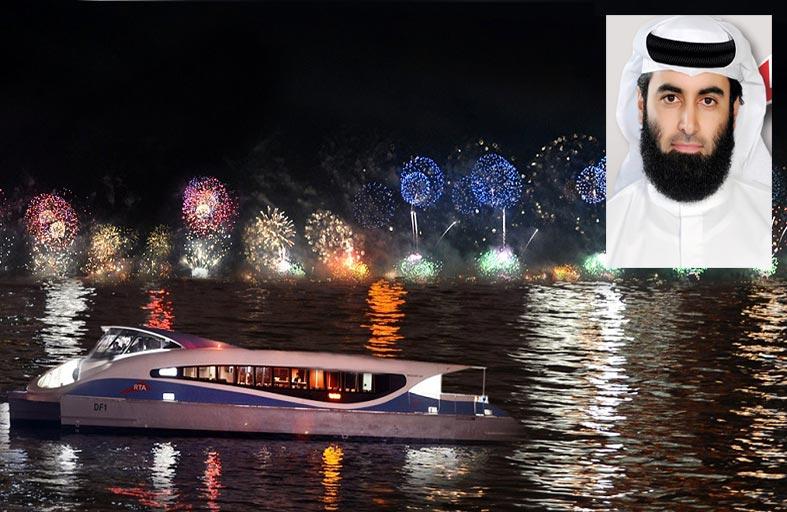 «طرق دبي» تقدم عروضا مميزة عبر وسائل النقل البحري برأس السنة