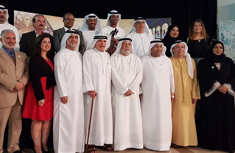اتحاد كتاب وأدباء الإمارات يحتفل  بافتتاح الموسم الثقافي ويكرم بوجمهور والعسم