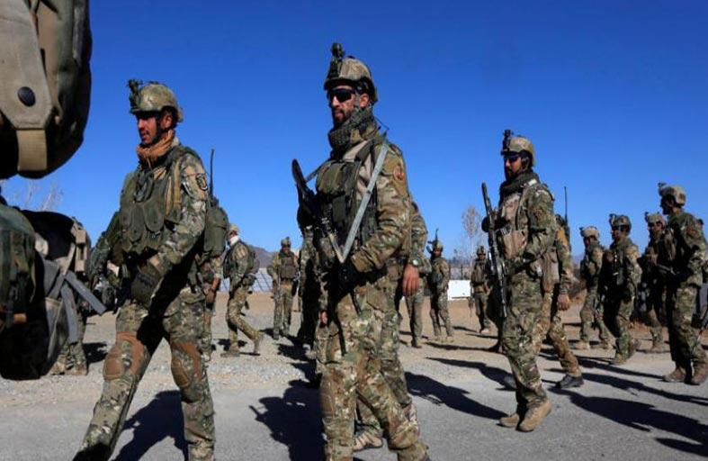 القوات الأفغانية تستعد لشن هجوم ضد داعش