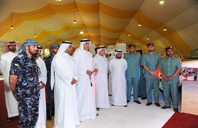 ندوة  الوعي الأمني وحماية المجتمع في الظفرة تناقش جهود شرطة أبوظبي في تعزيز الأمن والأمان