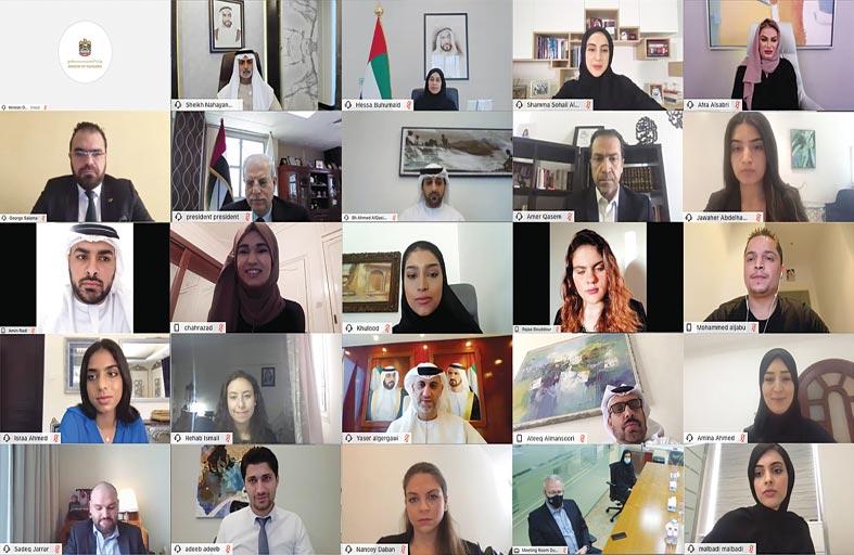 نهيان مبارك يطلق مسابقة «غرد للتسامح» بثلاث لغات لشباب الوطن العربي