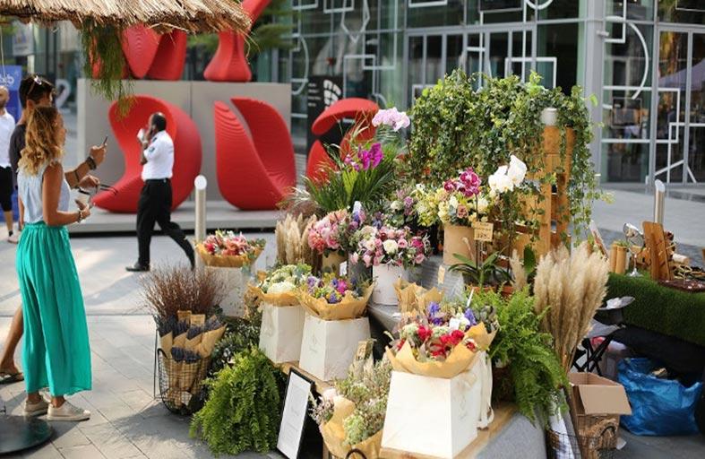 حي دبي للتصميم يفتتح سوق الفن «آرت ماركت» 21 ديسمبر