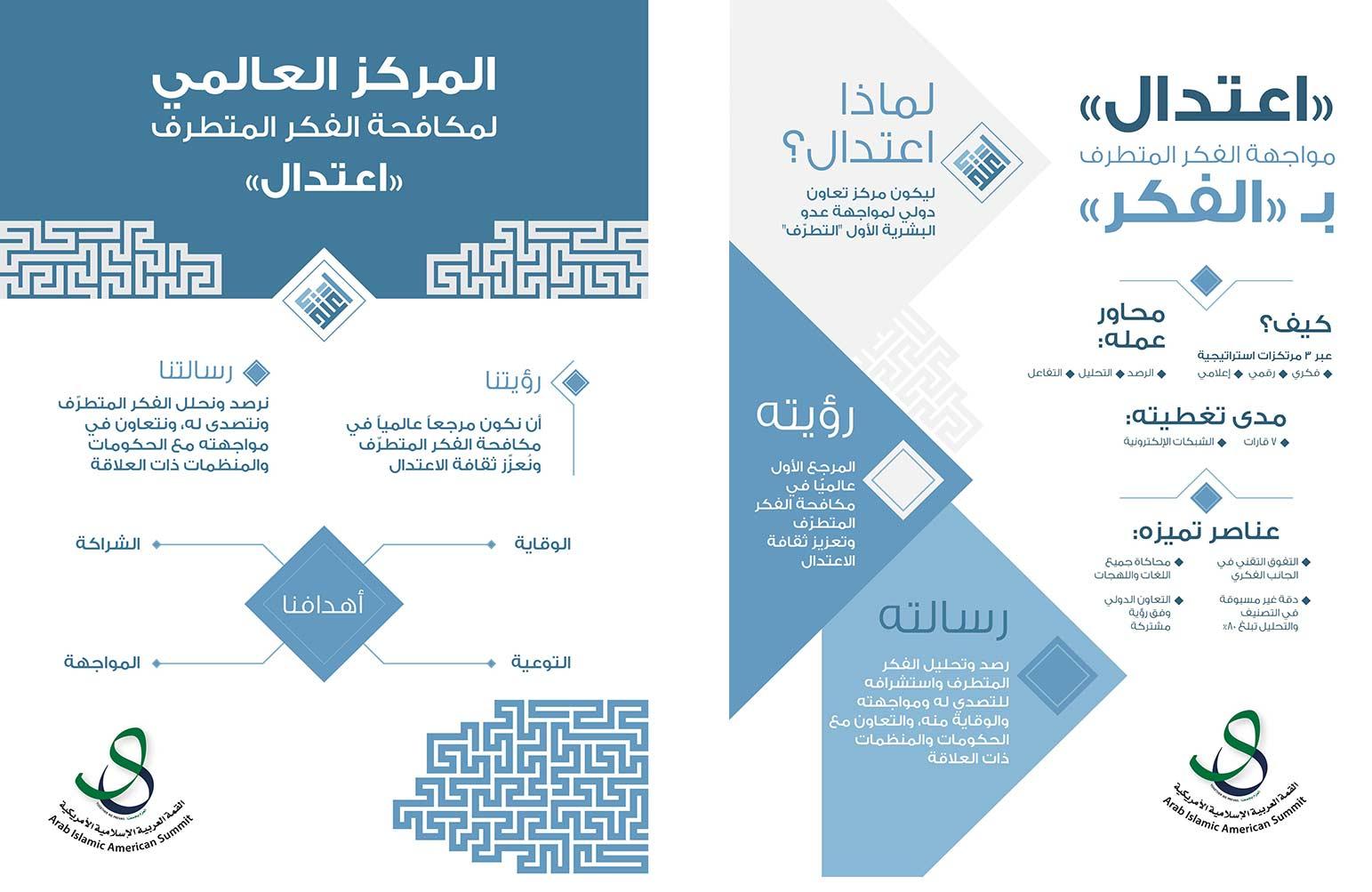 محمد بن زايد يشارك في افتتاح المركز العالمي لمكافحة الفكر المتطرف