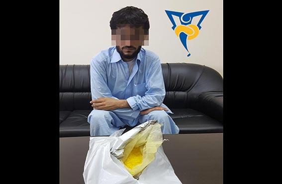 شرطة رأس الخيمة تطيح بتاجر المخدرات الأصفر