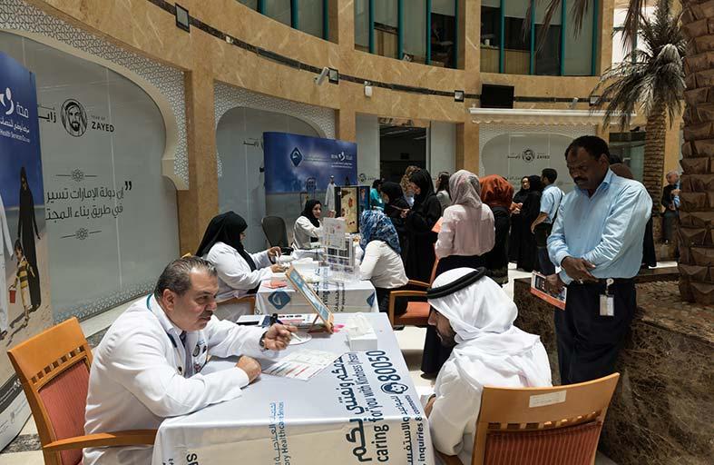 الخدمات العلاجية الخارجية تختتم الحملات التوعوية لشهر رمضان المبارك