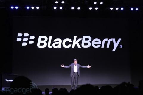 بلاكبيري تطلق أول تحديث لـBlackberry 10