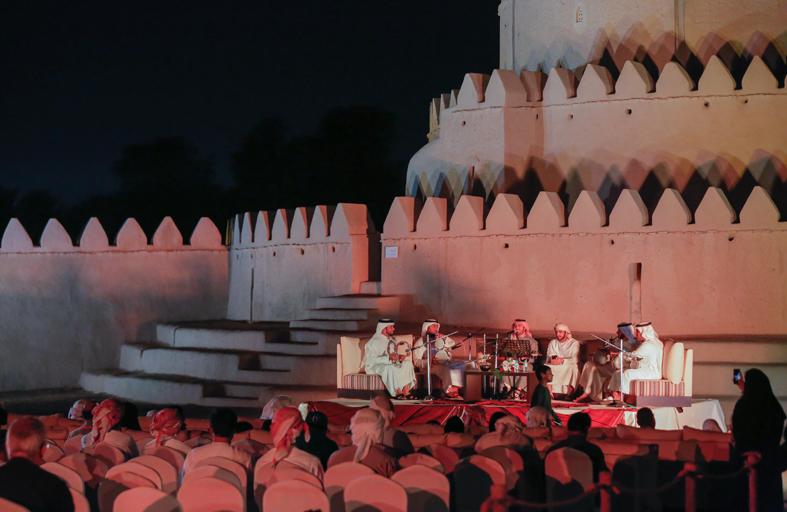 قلعة الجاهلي بالعين تُطلق سلسلة من الفعاليات الثقافية والتراثية بدءاً من الغد