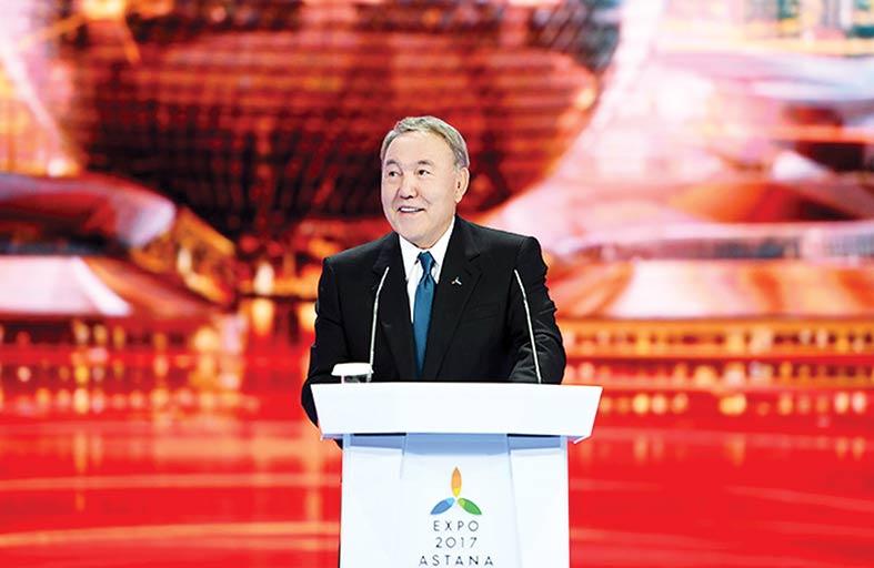 نزار باييف: استضافة إكسبو 2017 وضعت أستانا في بؤرة الاهتمام العالمي