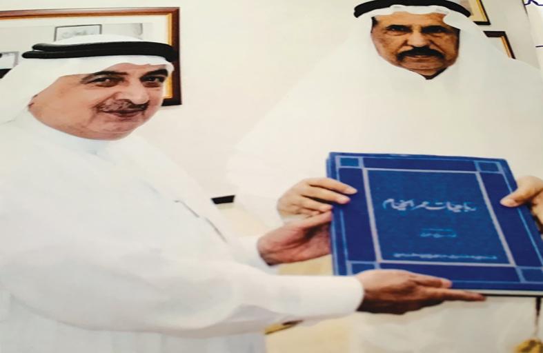 أبو نادر يهدي رباعيات الخيّام للجابر