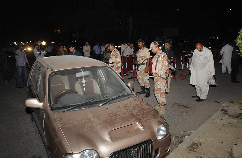 مقتل إرهابيين اثنين  في كراتشي الباكستانية