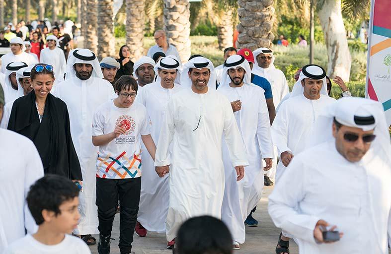 44bd5157d Alfajr News   Alfajr News   حامد بن زايد يشارك في «نمشي معا»
