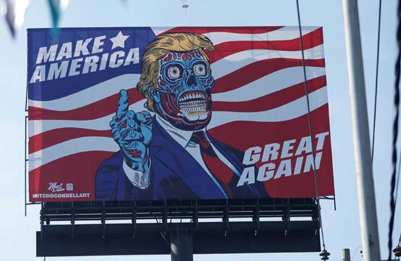ترامب دخيل وهزيل في مكسيكو سيتي