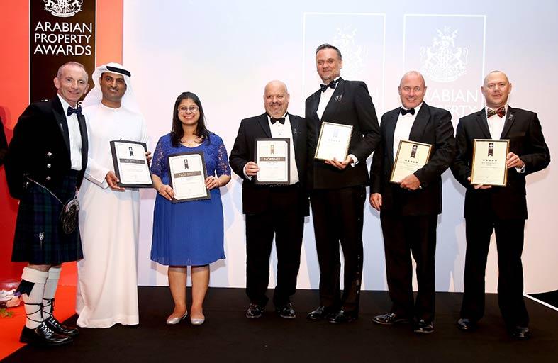 شركة استيكو العقارية تنال ثلاثة جوائز خلال حفل توزيع جوائز العقارات العربية
