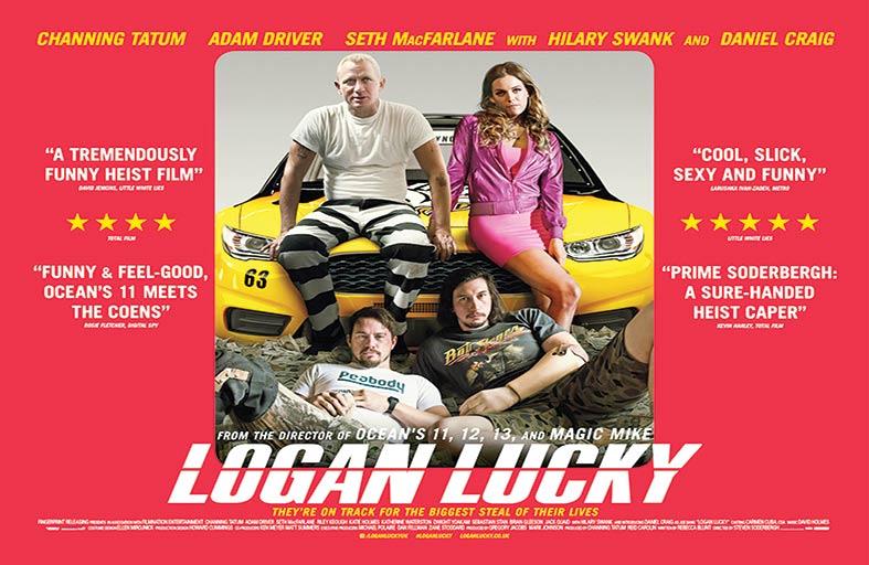 Logan Lucky .. مرح وتسلية وسط أجواء السرقة ومشاهد الهرب المشوقة