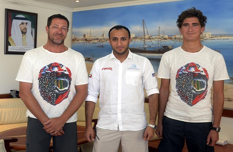 (دبي البحري) يبحث ترتيبات مونديال الدراجات المائية