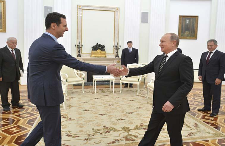 قد تريد موسكو حلاً سياسياً يقلص مخاطر استثماراتها في قواعد سوريا ..  كيف يمكن للغرب إجبار روسيا على ضبط الأسد؟