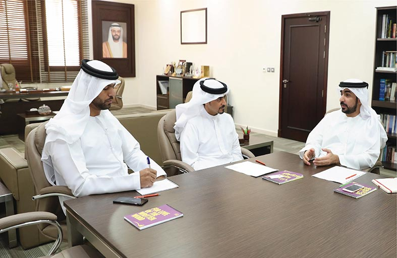 جمعية الناشرين الإماراتيين تعزز تعاونها مع هيئة الشارقة للكتاب