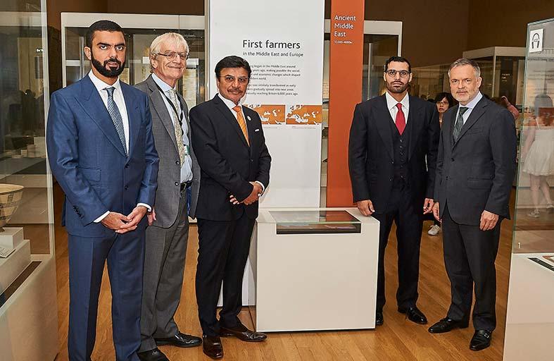 المتحف البريطاني يطلق اسم الشيخ زايد على قاعة تاريخ الزراعة في أوروبا والشرق الأوسط