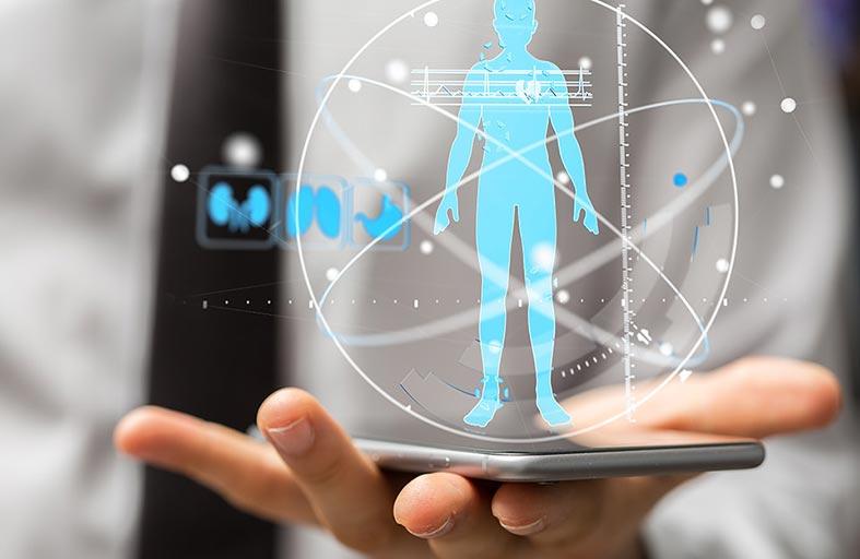 Dip.io تطبيق كاميرا  يشخص حالتك الصحية
