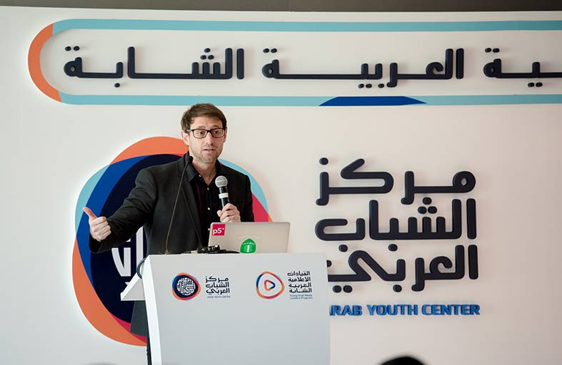 جامعة نيويورك أبوظبي تقدّم محاضرات على مدى يومين في برنامج «القيادات الإعلامية العربية الشابة»