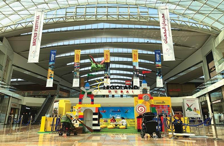 دبي فستيفال سيتي مول تستضيف مهرجان المكعبات
