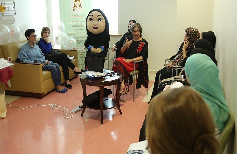 جمعية أصدقاء الرضاعة الطبيعية تنجح في توعية 1000 سيدة وفتاة بأهمية حليب الأم