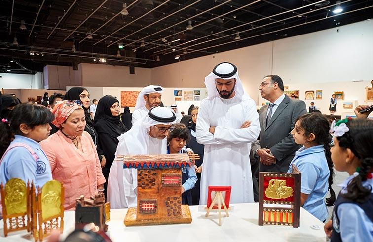 هيئة أبوظبي للسياحة والثقافة ومجلس أبوظبي للتعليم ينظمان النسخة الرابعة من معرض الأعمال الفنية لطلبة مجلس أبوظبي للتعليم