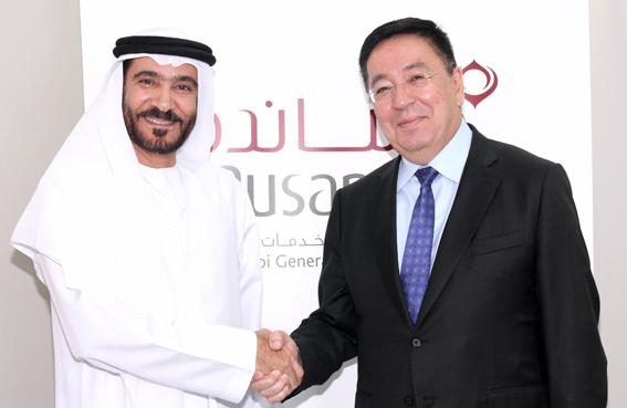 سفير كازاخستان يشيد بخطوة حكومة أبوظبي في تأسيس شركة «مساندة»