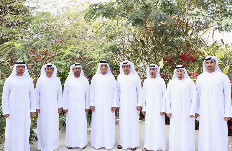 حاكم رأس الخيمة يستقبل وفدا من أعضاء اتحاد الإمارات للجوجيتسو