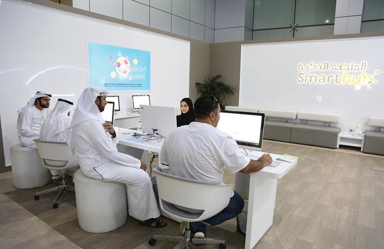 بلدية مدينة العين تصدر تصاريح الجلسات الخارجية عبر المنصة الذكية