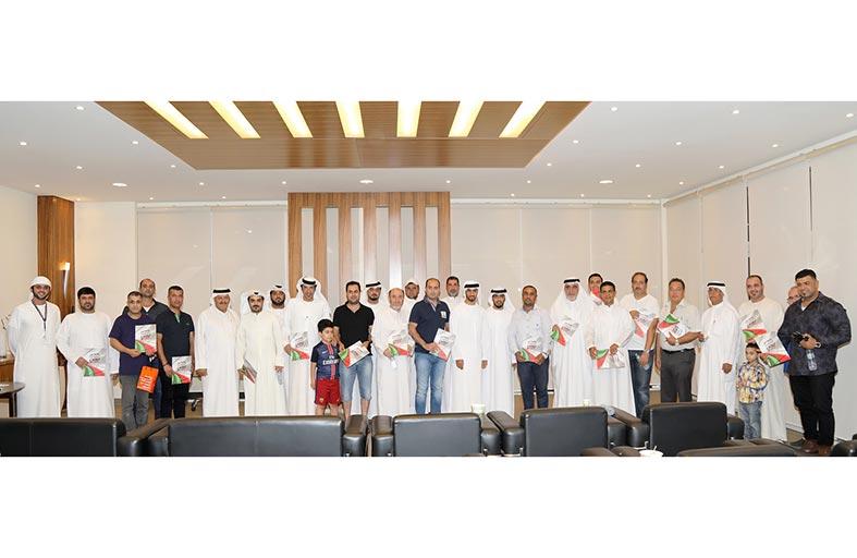 إدارة سوق الحراج تكرم أصحاب ومالكي 30 معرضاً في جلسة رمضانية