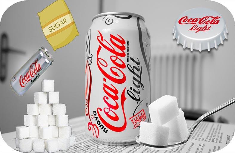 هل تخلو كولا لايت فعلاً من السكر؟