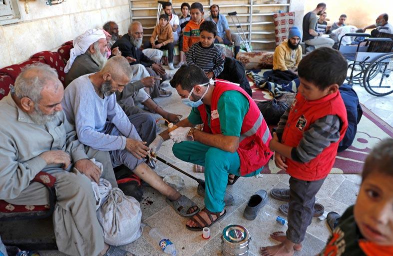 توقف المحادثات لاخراج المدنيين المحاصرين في الرقة
