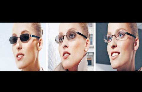 نظارات تغيّر لونها خلال ثوانٍ