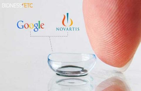 بدء اختبار عدسات جوجل اللاصقة الذكية على البشر
