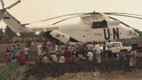 تنديد دولي بإسقاط المروحية الأممية بجنوب السودان