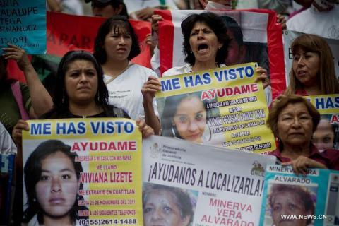 عدد المفقودين في المكسيك يتخطى الـ20 ألفاً
