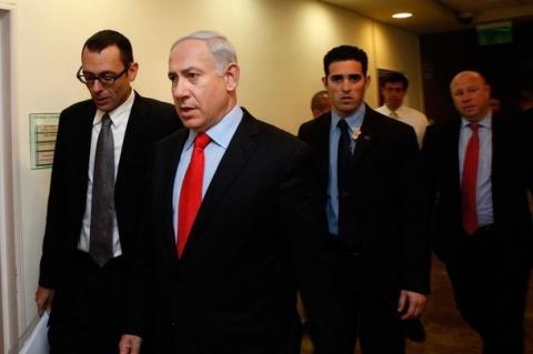 ديوان نتنياهو يرفض استخدام اسم دولة فلسطين في المعاملات الفلسطينية